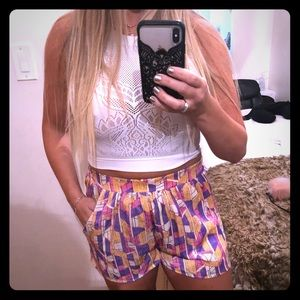 Silk Medium Everly shorts
